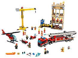 Конструктор LEGO Городская пожарная бригада 943 деталей (60216)