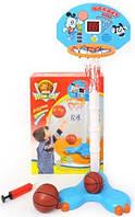 Детское баскетбольное кольцо на стойке 520