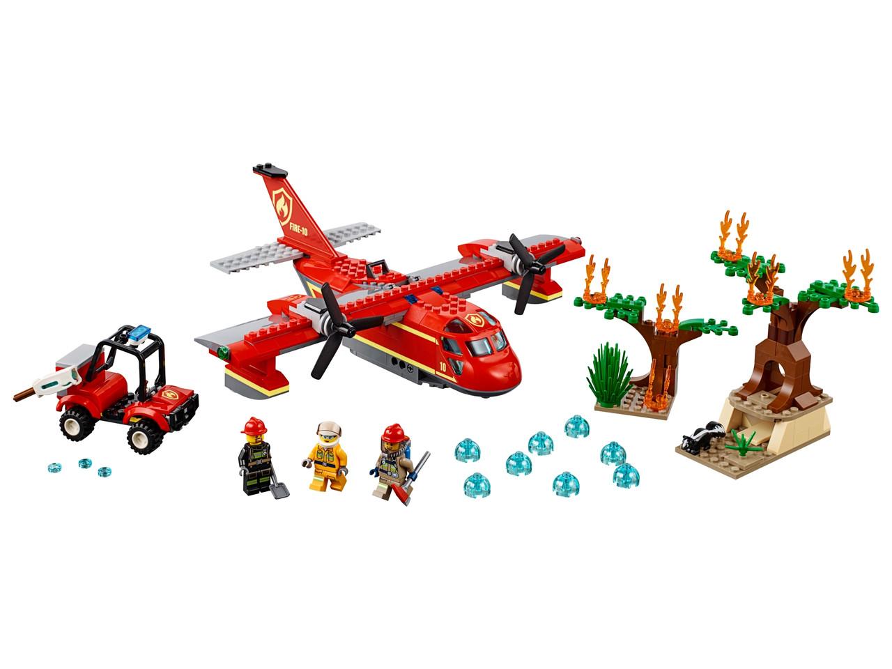 Конструктор LEGO Пожарный самолет 363 деталей (60217)
