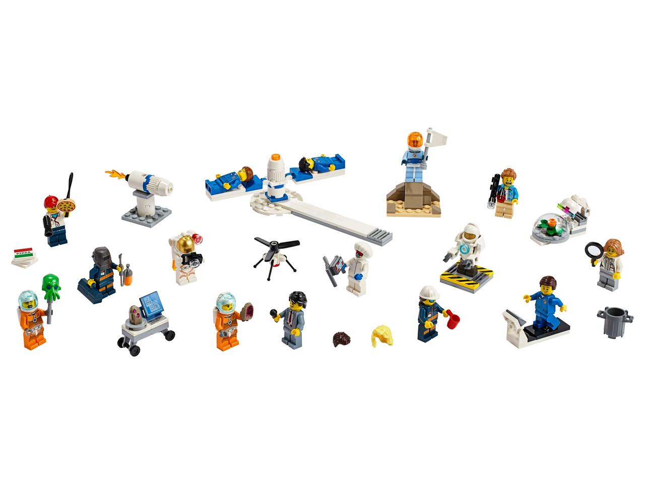 Конструктор LEGO «Комплект минифигурок «Исследования космоса»» 209 деталей (60230)