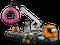 Конструктор LEGO Открытие магазина по продаже пончиков 790 деталей (60233), фото 5