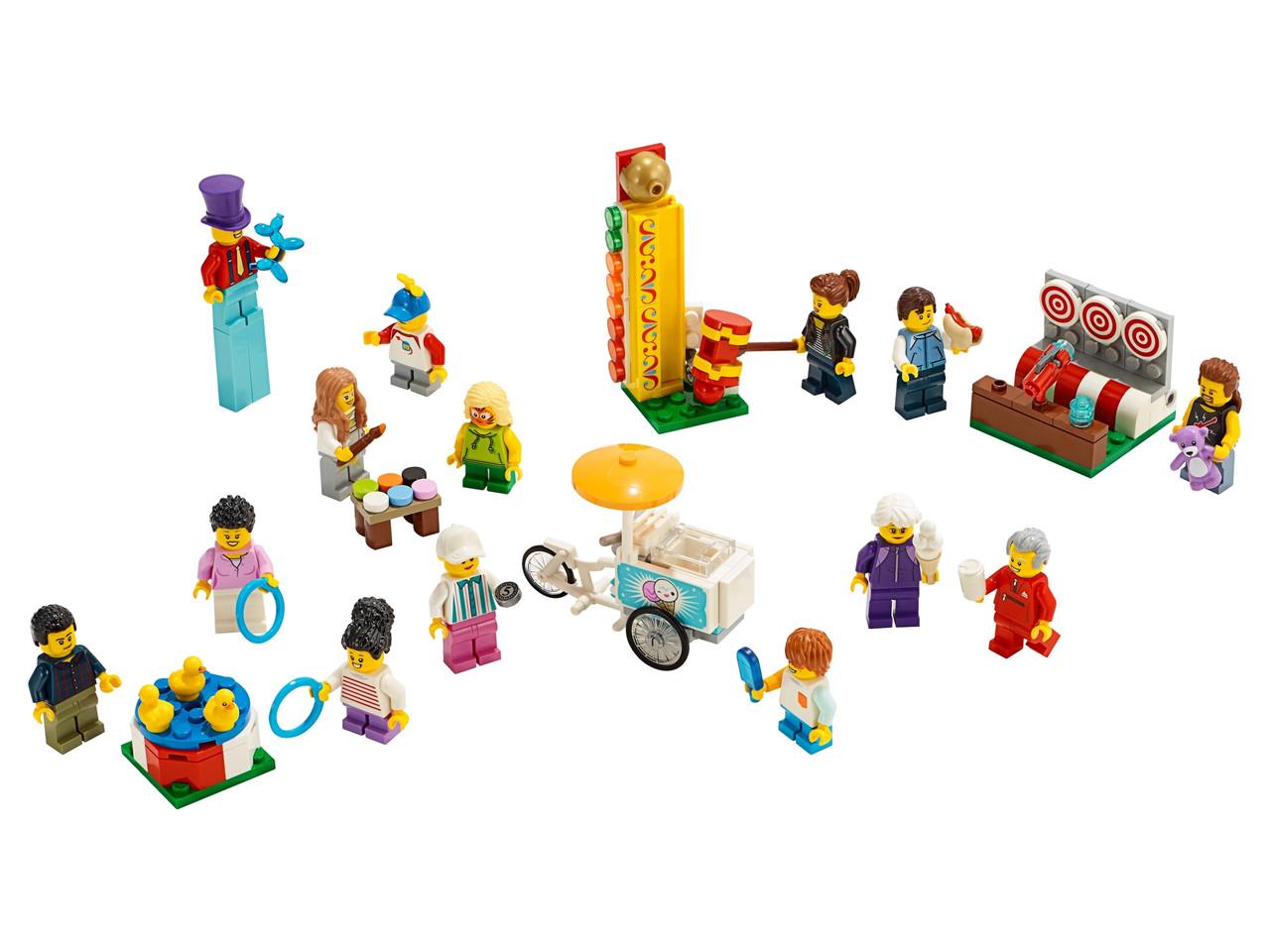 Конструктор LEGO «Комплект минифигурок «Весёлая ярмарка»» 183 деталей (60234)