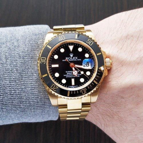 Rolex Submariner (Gold-Black)