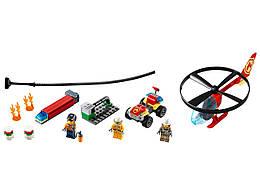 Конструктор LEGO Пожарный спасательный вертолёт 93 деталей (60248)