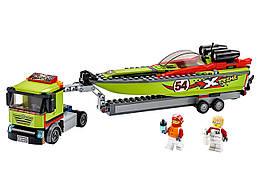 Конструктор LEGO Транспортировщик скоростных катеров 238 деталей (60254)