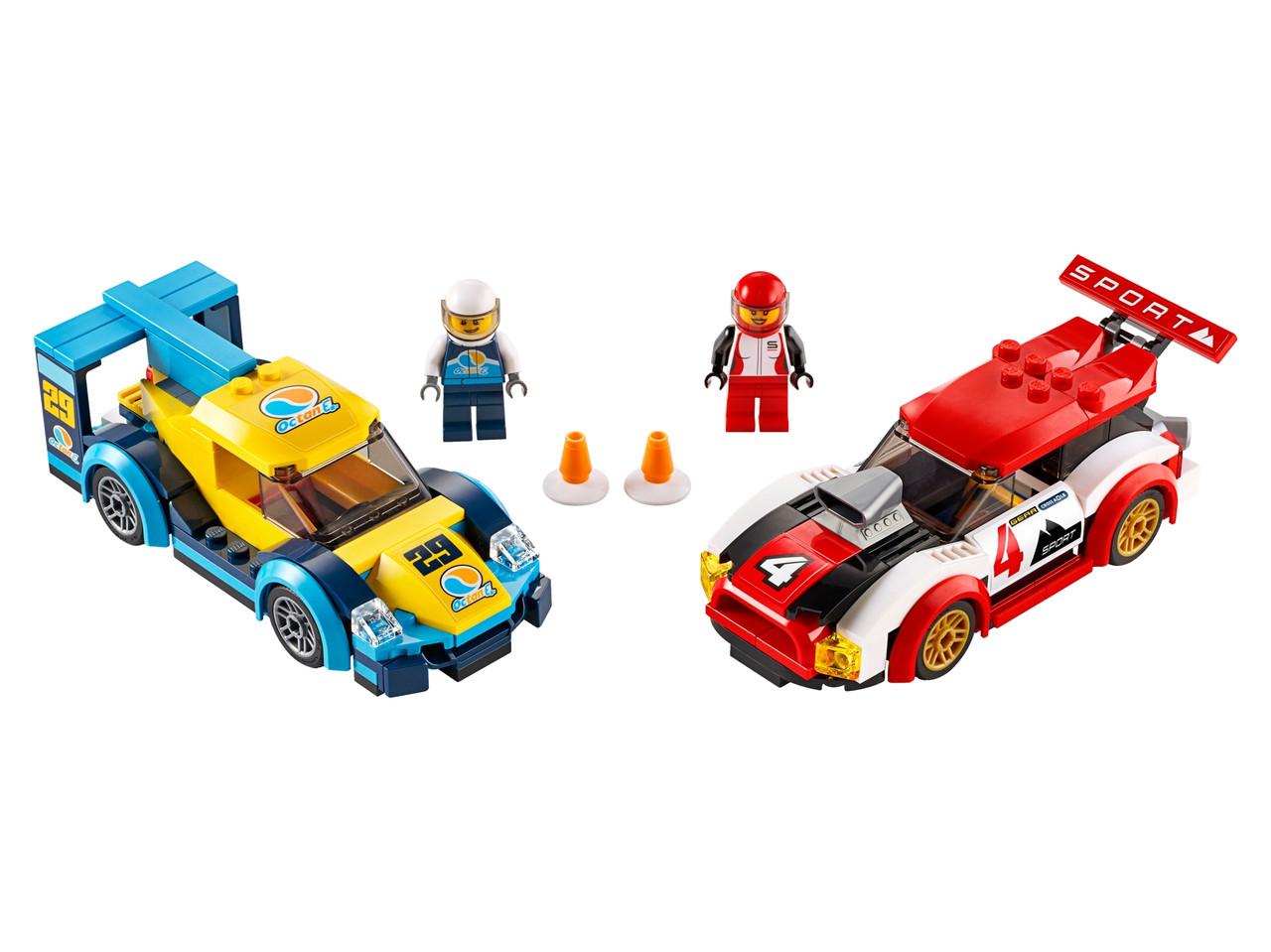 Конструктор LEGO Гоночные автомобили 190 деталей (60256)