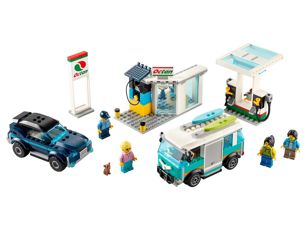 Конструктор LEGO Станция технического обслуживания 354 деталей (60257)
