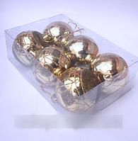 Игрушки на ёлку (диаметр 60)