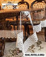 Скатерть силиконовая с кружевом Verolli