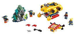 Конструктор LEGO Океан: разведывательный подводная лодка 286 деталей (60264)