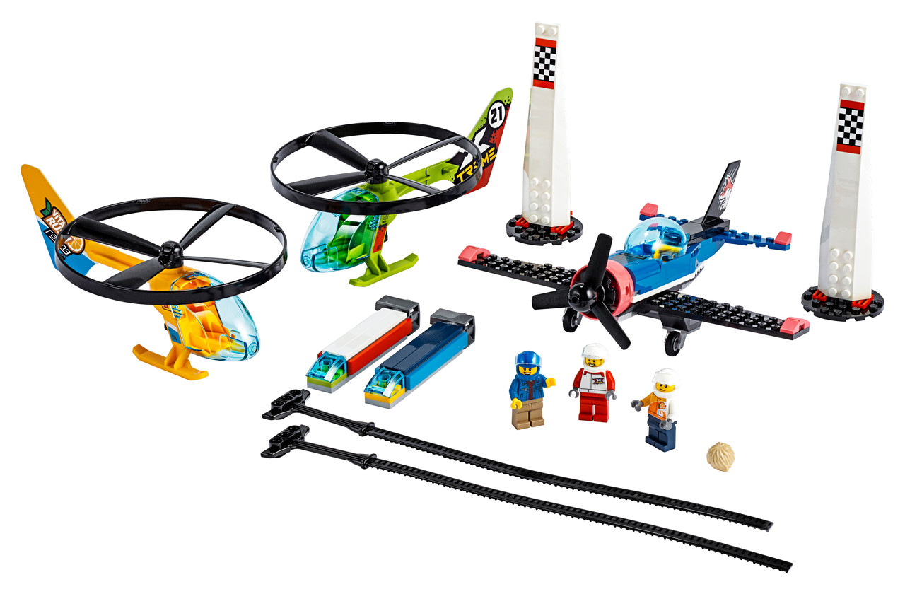 Конструктор LEGO Авиагонки 140 деталей (60260)