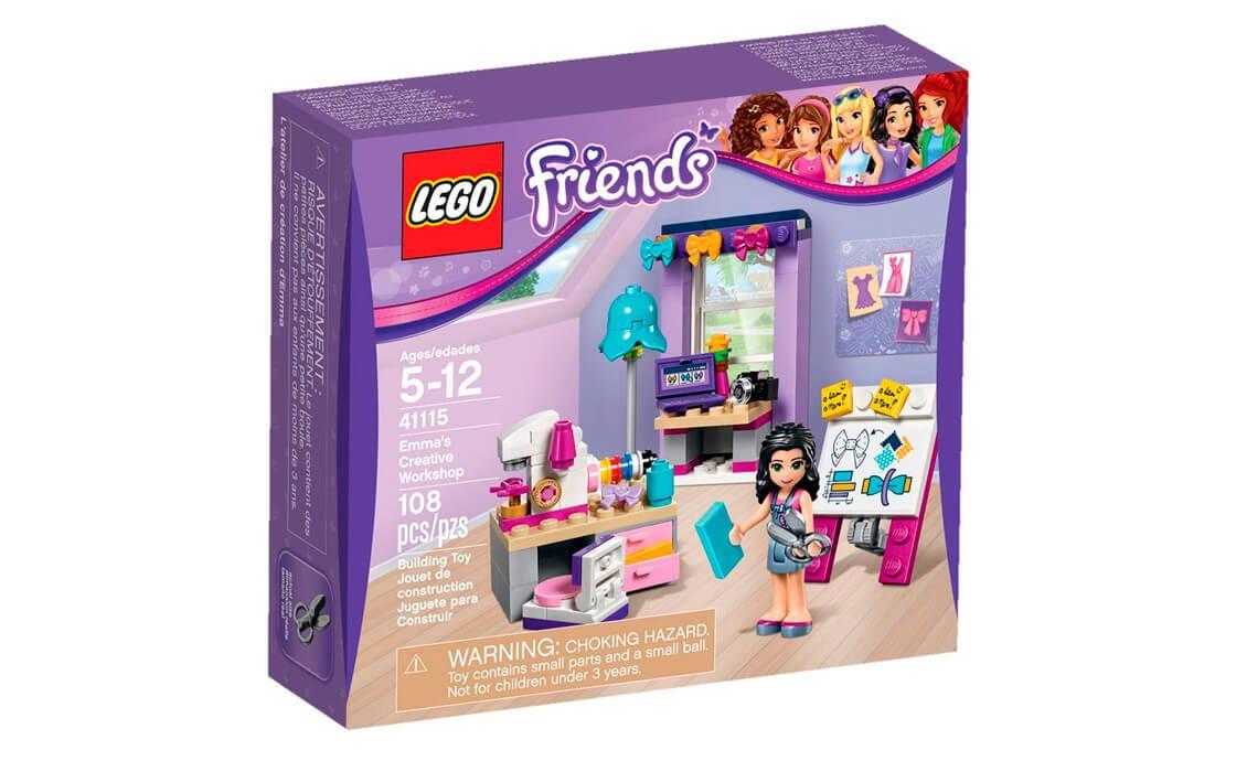 Конструктор LEGO Творча майстерня Емми 108 деталей (41115)