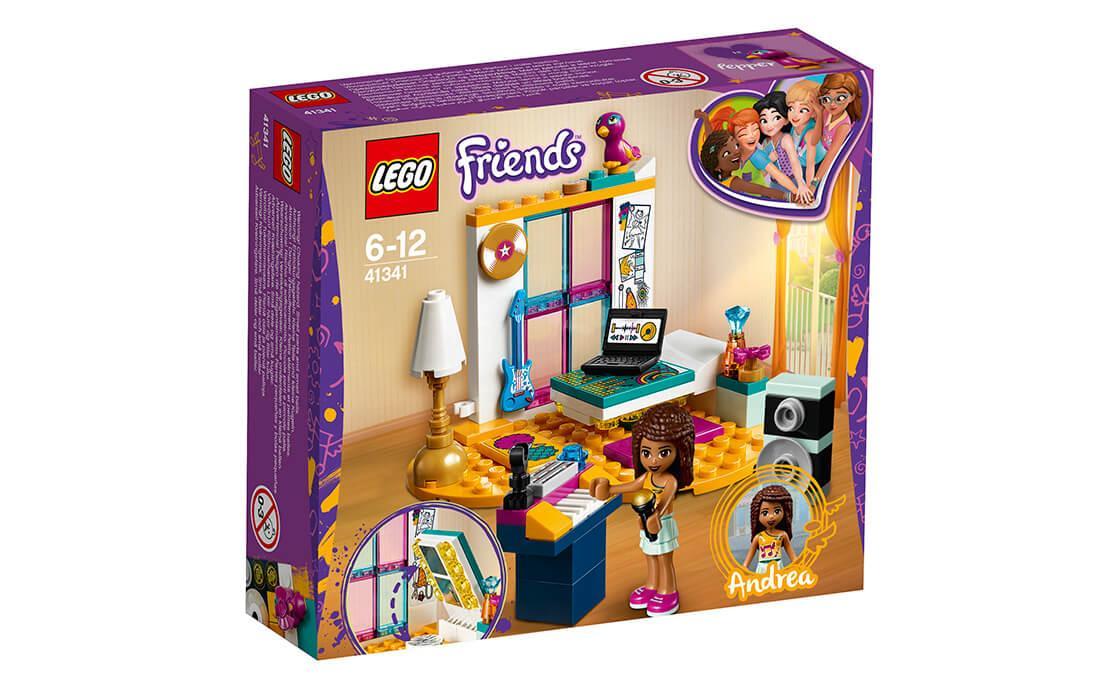 Конструктор LEGO Комната Андреа 85 деталей (41341)