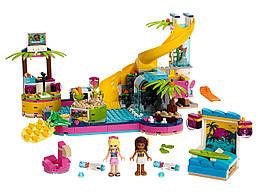 Конструктор LEGO Вечеринка Андреа у бассейна 468 деталей (41374)