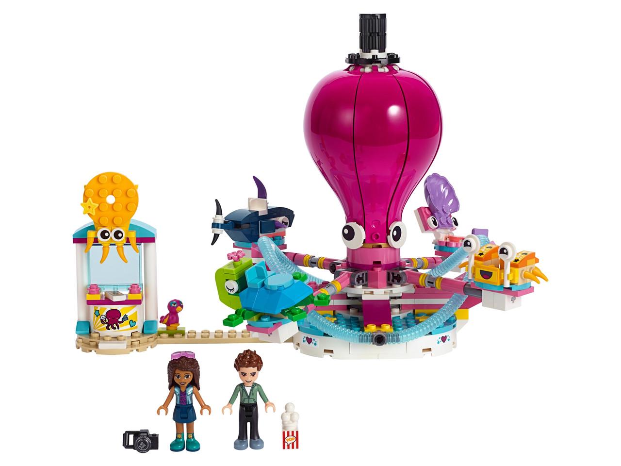 Конструктор LEGO Аттракцион «Весёлый осьминог» 324 деталей (41373)