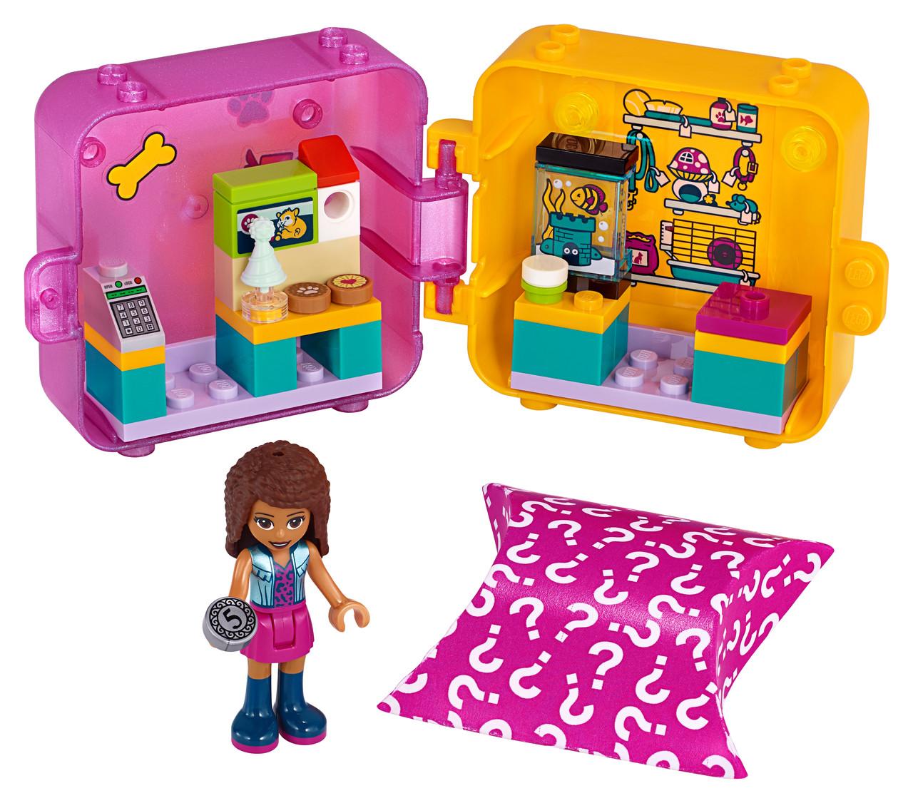 Конструктор LEGO Игровой куб «Андреа на шопинге» 1 деталей (41405)