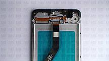 Дисплей с сенсором Samsung А215 Galaxy А21 Black, GH82-22836A, оригинал с рамкой!, фото 2