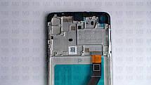 Дисплей с сенсором Samsung А215 Galaxy А21 Black, GH82-22836A, оригинал с рамкой!, фото 3