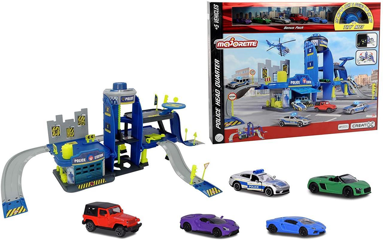 Игровой набор Creatix Полиция  Majorette 2050030