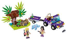 Конструктор LEGO Спасение слоненка в джунглях 203 деталей (41421)