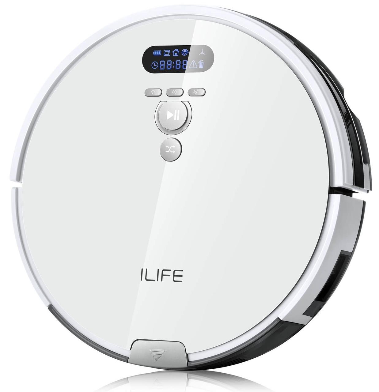 Робот-пылесос iLife V8 Plus ЖК-дисплей сухая и влажная уборка