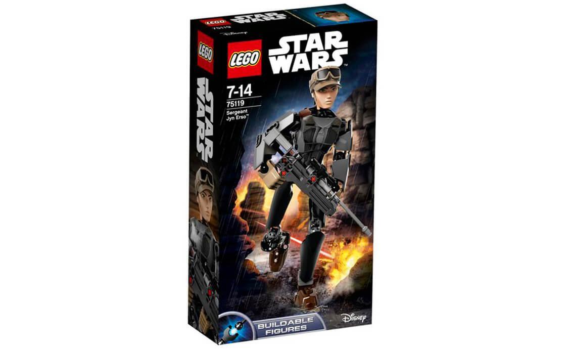 Конструктор LEGO Джин Ерсо 104 деталей (75119)