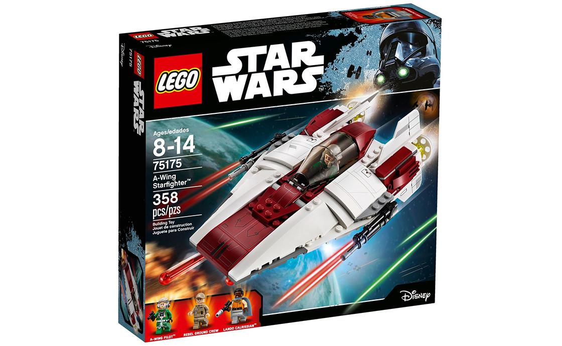 Конструктор LEGO  Star Wars A-wing Старфайтер 358 деталей (75175)