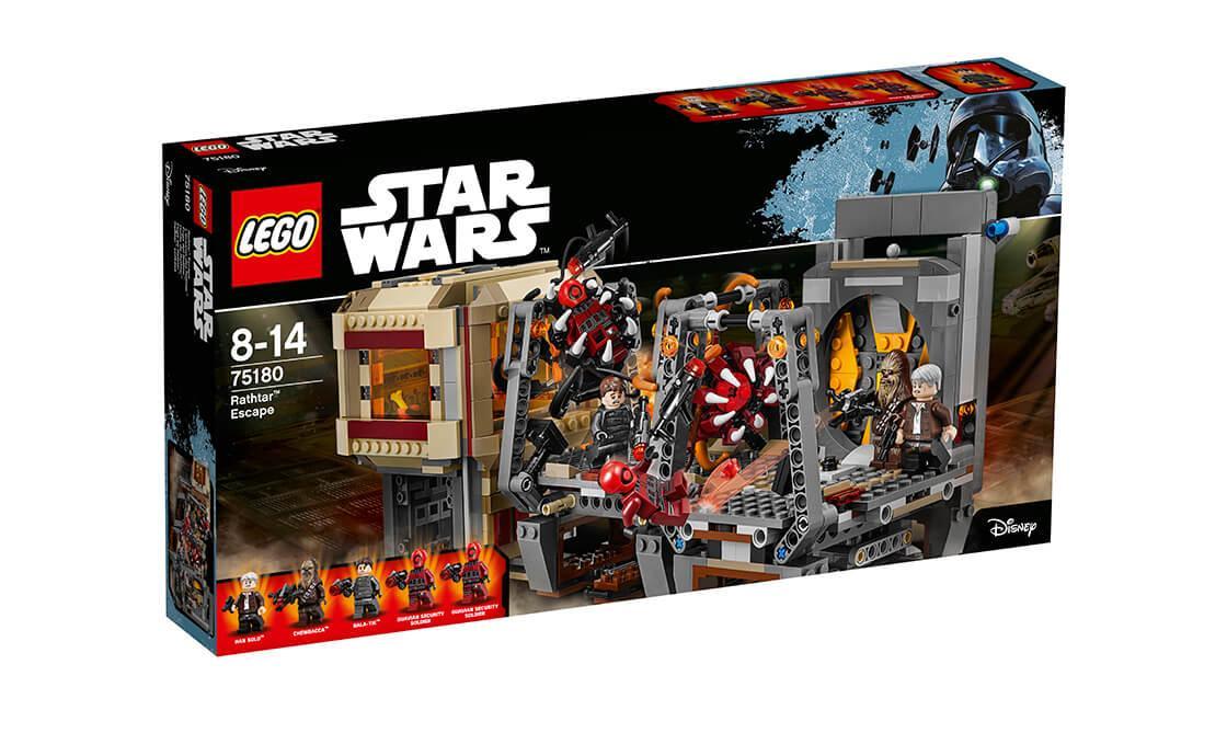 Конструктор LEGO Втеча Рафтора 836 деталей (75180)