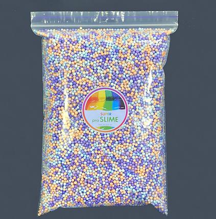Пінопластові кульки 2-3 мм Асорті бузкове (1000 мл), фото 2