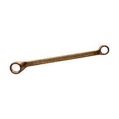 Ключ гаечный накидной омедненный  8 * 10 КЗСМИ КГН-М8х10