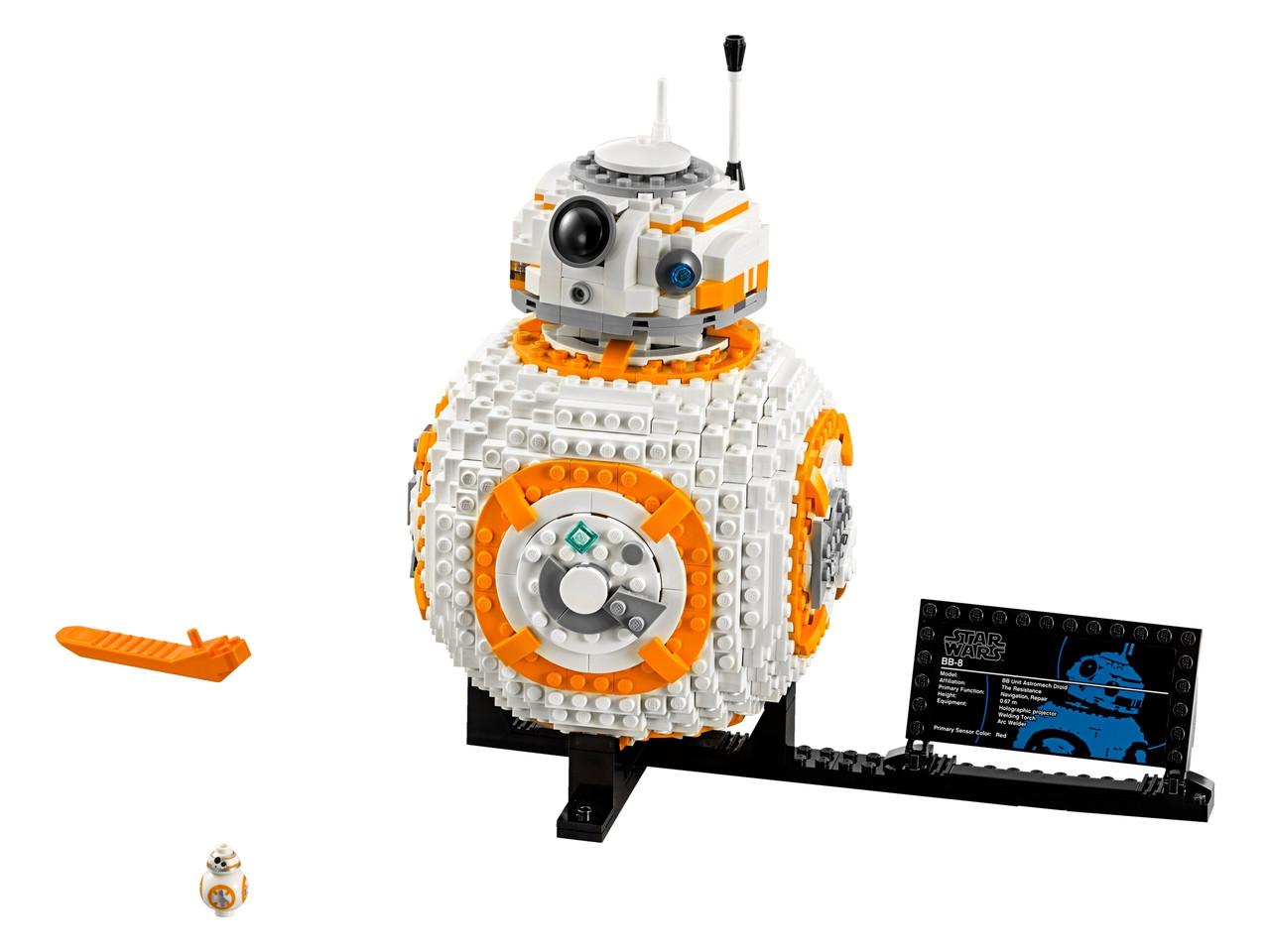 Конструктор LEGO БиБи-8 1106 деталей (75187)