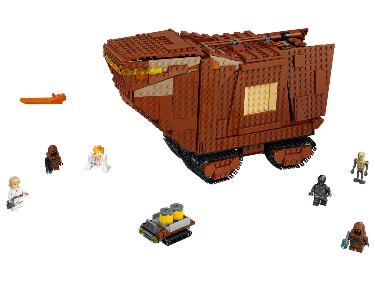 Конструктор LEGO Песчаный краулер 1239 деталей (75220)