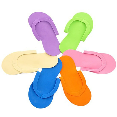 Тапочки вьетнамки одноразовые (упаковка 12 пар)