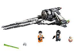 Конструктор LEGO Перехватчик СИД Чёрного аса 396 деталей (75242)