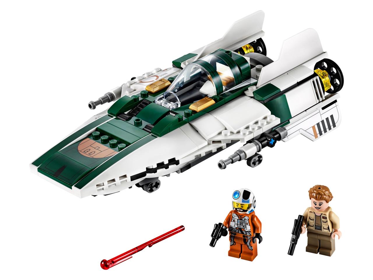 Конструктор LEGO Опір A-wing Starfighter 269 деталей (75248)