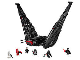 Конструктор LEGO Кайло Рен Шаттл 1005 деталей (75256)