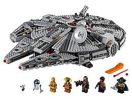 Конструктор LEGO Сокіл тисячоліття 1351 деталей (75257)