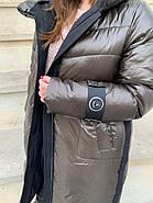 Зимняя куртка пуховик Hailuozi 200-B2, фото 6