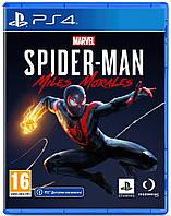 Игра Marvel Spider-Man: Miles Morales (PS4, Русская версия), фото 1