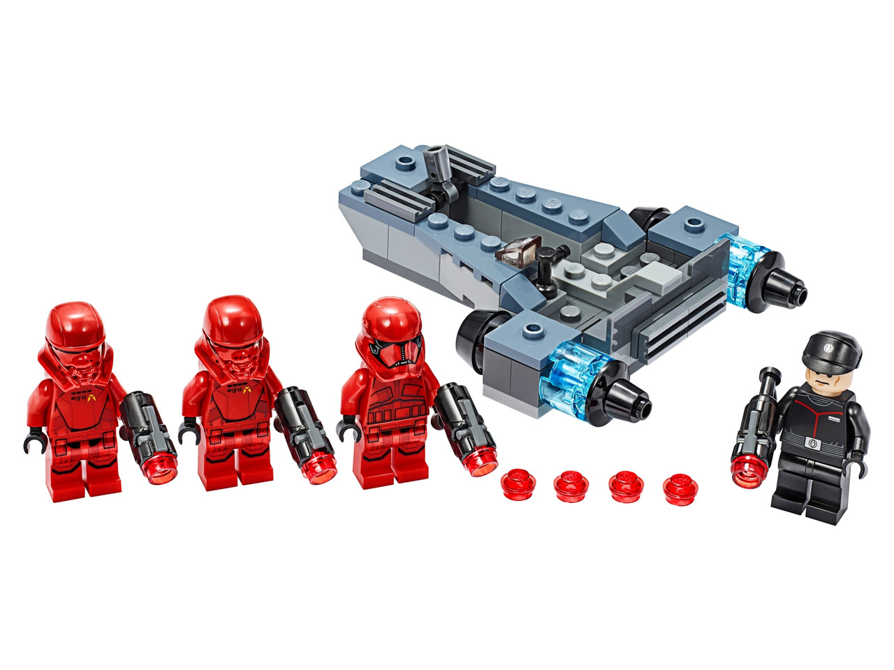 Конструктор LEGO Боевой набор: штурмовики ситхов 105 деталей (75266)