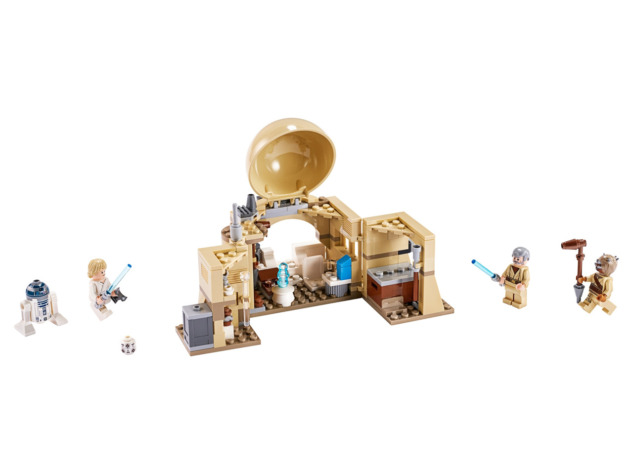 Конструктор LEGO Хижина Оби-Вана Кеноби 200 деталей (75270)