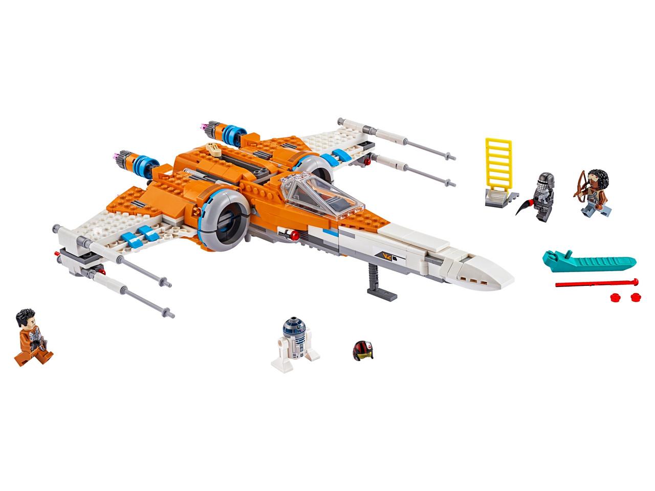 Конструктор LEGO Истребитель типа Х По Дамерона 761 деталей (75273)