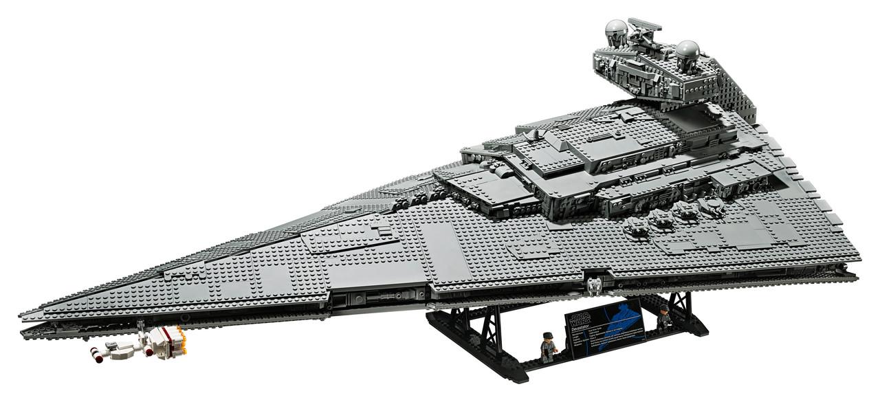 Конструктор LEGO Имперский Звездный Разрушитель 4784 деталей (75252)