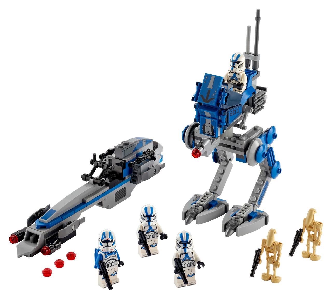 Конструктор LEGO 501-й легион клонов легиона 285 деталей (75280)