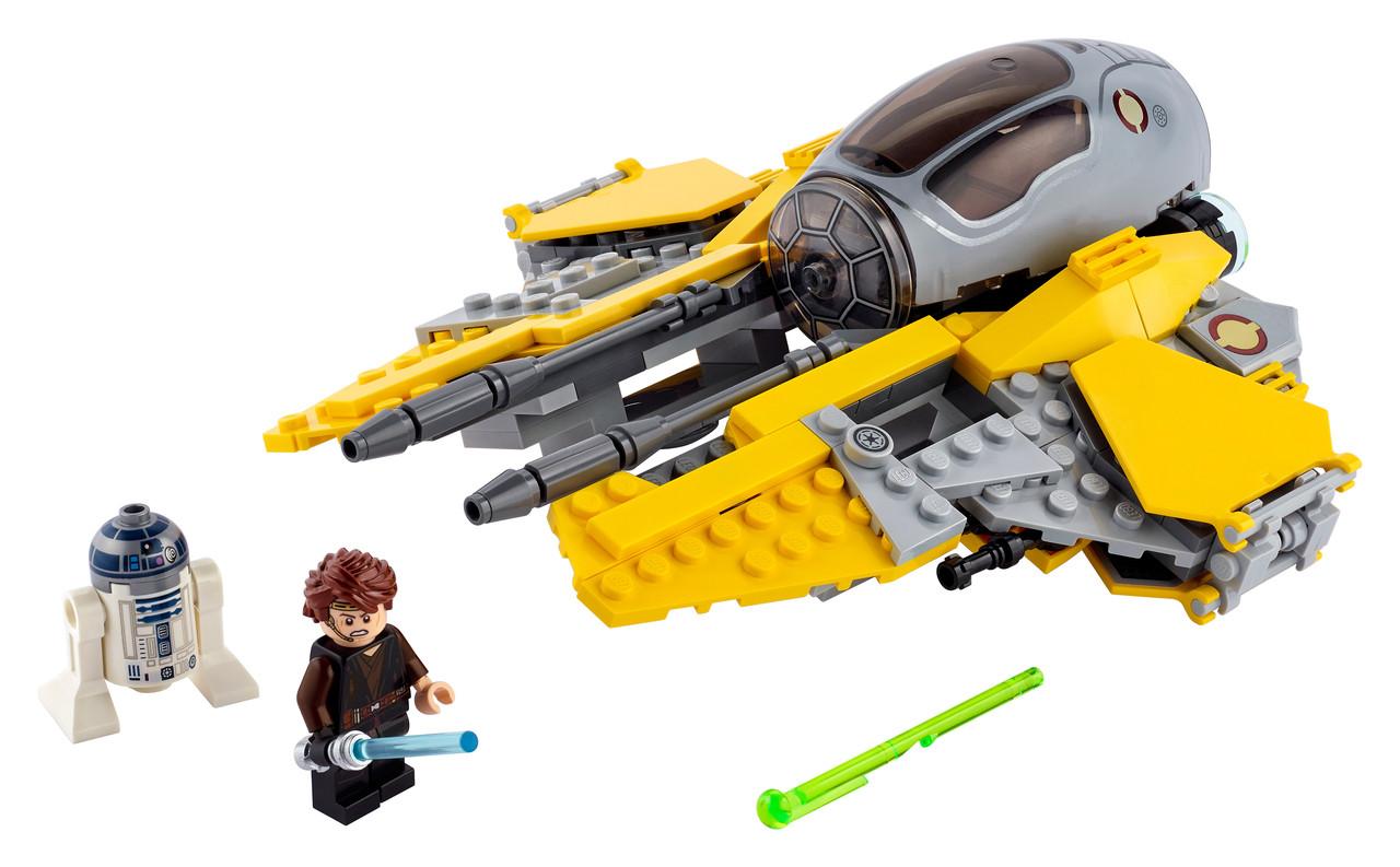 Конструктор LEGO Перехоплювач джедая Анакина 248 деталей (75281)