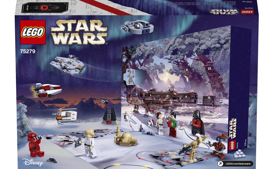Конструктор LEGO Рождественский календарь 311 деталей (75279)