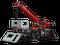 Конструктор LEGO Подъёмный кран для пересечённой местности 4057 деталей (42082), фото 3