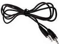 Аудио кабель стерео 3,5 мм штекер-штекер AUX 1,2м