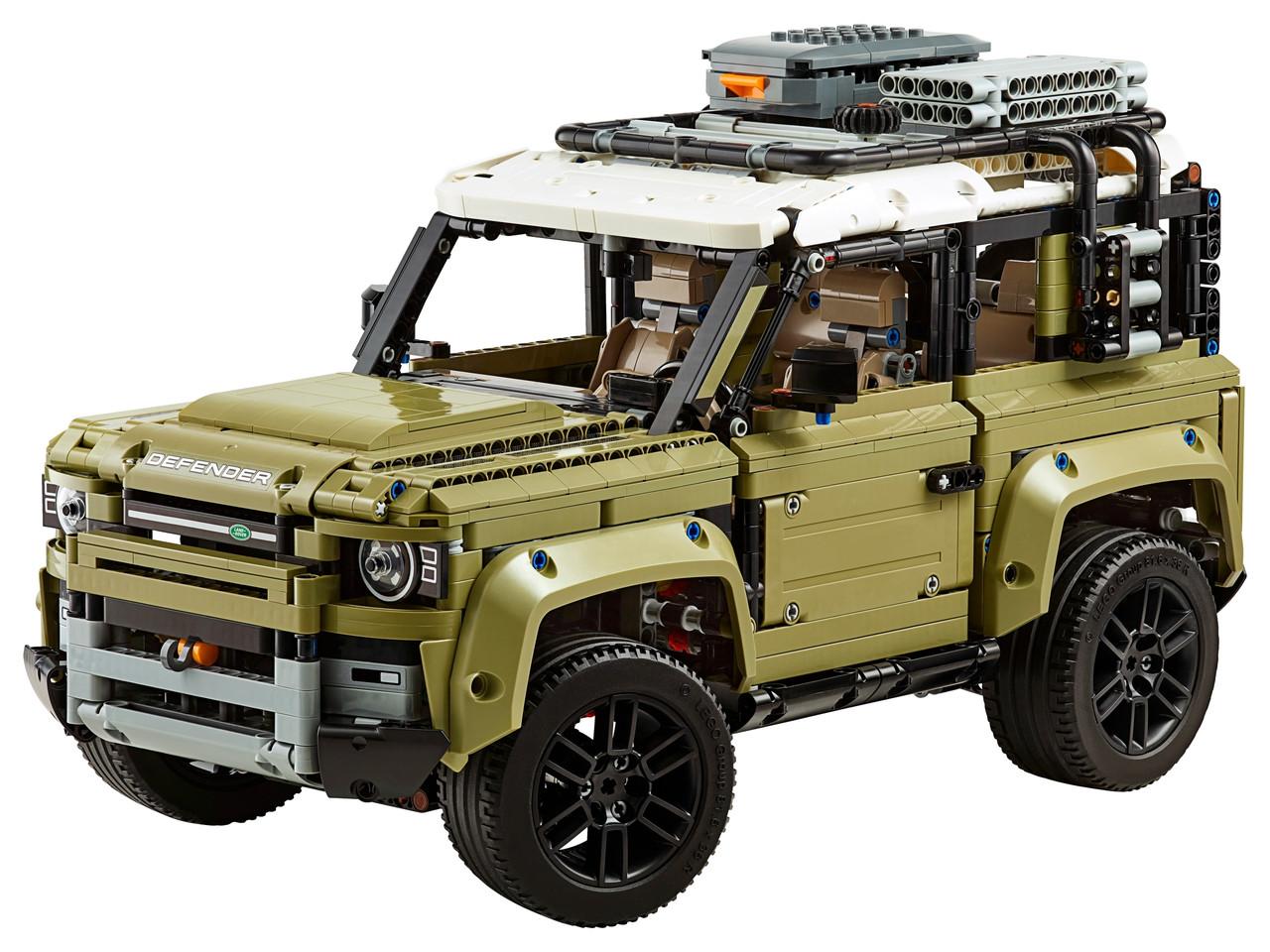 Конструктор LEGO Land Rover Defender 2573 деталей (42110)