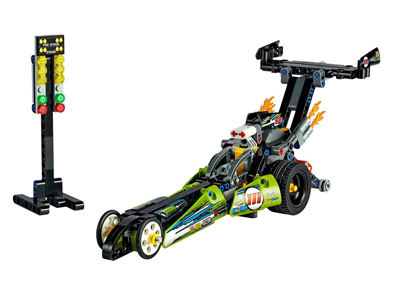 Конструктор LEGO Драгстер 225 деталей (42103)